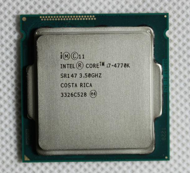 Free shipping Intel Core i7-4770K SR147 3.5 GHz Quad-Core (SR147) CPU Processor