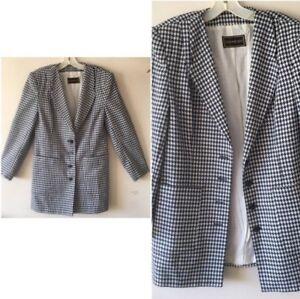 094c432a308 SALE Vtg 80s YSL 2 Pc Dress Suit(Skirt&Jacket/coat)black White ...
