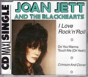 Joan Jett  and the Blackhearts  CD-SINGLE  I LOVE ROCK'N' ROLL