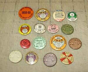 16-early-mid-1900s-WORKER-039-S-UNION-Pinbacks-Buttons-Teamsters-AFL-CIO-Yowza