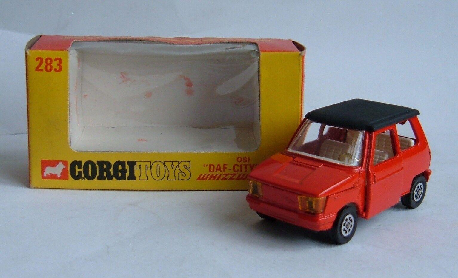Corgi spielzeug nr. 283 - von der stadt  ,  auto whizzwheels, superb minze