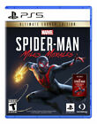 Marvel's Spider-Man: Miles Morales -- Ultimate Launch Edition (Sony PlayStation 5, 2020)
