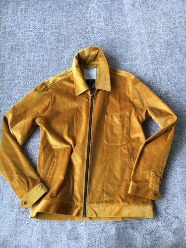 Percival Limited Edition Gold Velvet Men's Jacket