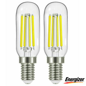 DEL pour Hotte de cuisinière 3.8 W Energizer Ampoule - 40 W SES/E14 Halogène De Remplacement - 2 Pack
