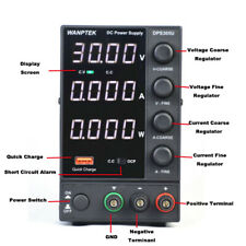 Wanptek Adjustable Dc Power Supply 5a 30v Led Display 4 Digits Black Dps 305u