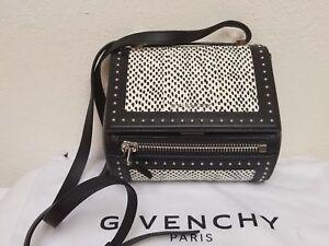 Image is loading Givenchy-Pandora-Box-Mini-Snakeskin-Shoulder-or-crossbody- ad435cd6d0a71