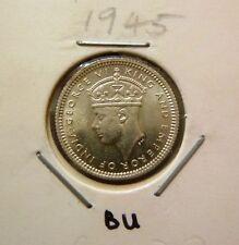 B133 - Malaya 5 Cents coin KGVI 1945 - BU