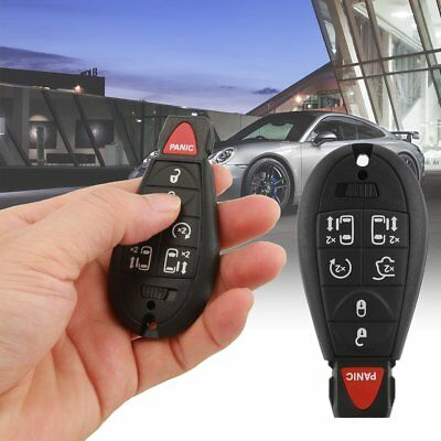 2 New Uncut Replacement Key Fob Keyless Entry Remote Transmitter for Fobik Key