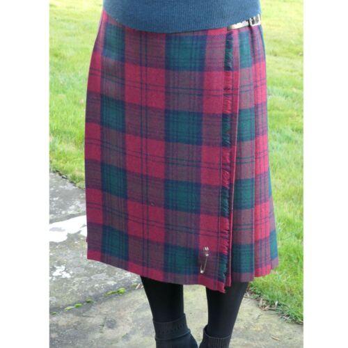 Rhona Fancy and Soft Long Length Shetland Wood Ladies Skirt Kilt Design New