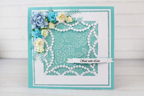 Nouveau tattered lace essentials un peu pastels fleurs die set ETL249 free p/&p