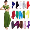 Harem Genie Yoga Pants Aladdin Hippie Baggy Jumpsuit Trousers Dance Aladin Hippy