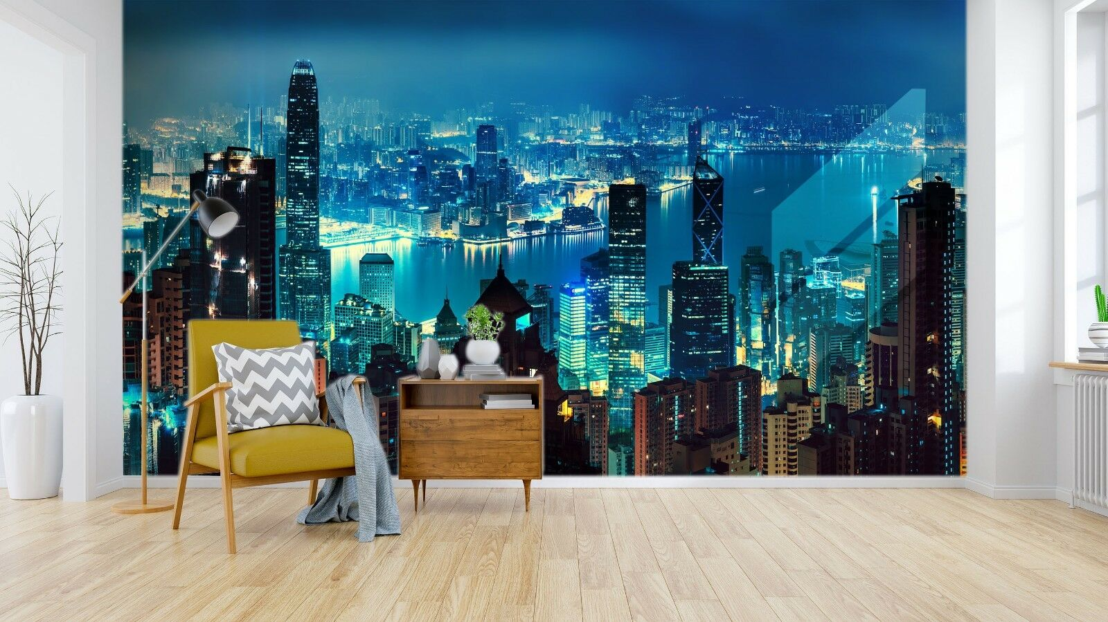 3D Night View 9752 Wall Paper Exclusive MXY Wallpaper Mural Decal Indoor Wall AJ