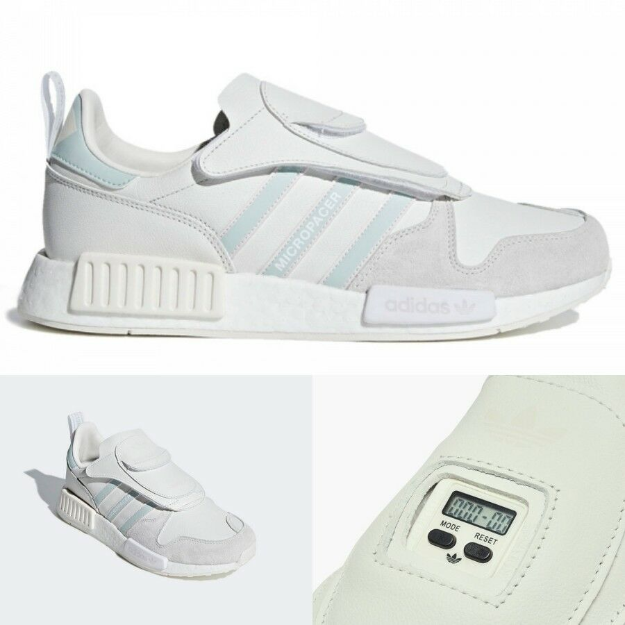 Adidas MICROPACER X R1  Running Sneakers Cloud White G28940 Sz5-9