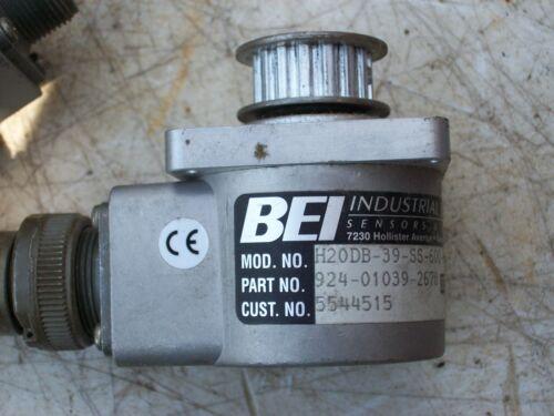 BEI Industrial Encoder 924-01039-2678  H20DB-39-SS-600-AB-7272-SM14-24V