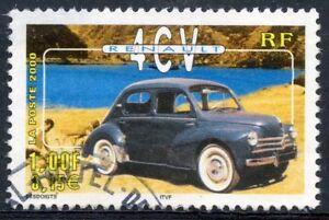 Suivi Des Vols Stamp / Timbre France Oblitere N° 3319 Voiture / Renault 4 Cv