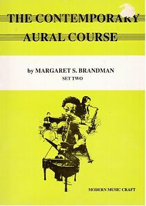The-Contemporary-AURAL-Course-Set-2-by-Margaret-S-Brandman-2-BOOKS