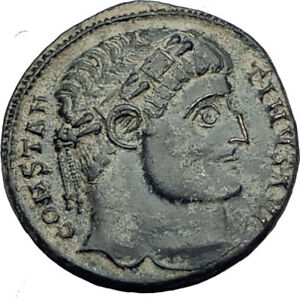 CONSTANTINE-I-the-Great-324AD-Authentic-Ancient-Roman-Coin-CAMP-GATE-i65145