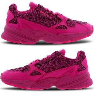 newest a55e6 5d3c4 Details about NEW Adidas Falcon Bae x Kylie Jenner Womens Trainers Fuchsia  Pink Size 5-8 Shoes