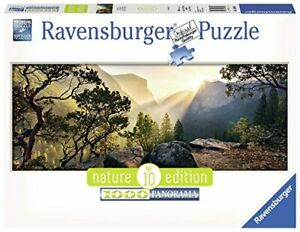 Ravensburger-Yosemite-Park-Panoramic-1000pc-Jigsaw-Puzzle-Mountains-Sunrise