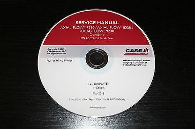 CASE IH AXIAL-FLOW 7230 8230 9230 COMBINE SERVICE REPAIR MANUAL   eBayeBay