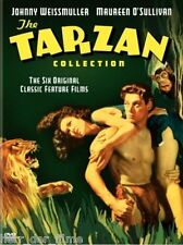THE TARZAN COLLECTION (Johnny Weissmüller) 4 DVDs NEU+OVP RC 1 (F, E)