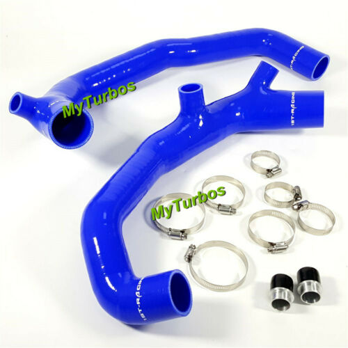 "1.75/"" Inlets Hose Pipe Blue for BMW N54 135i 335i 335xi 535i 535xi 3.0L 07-10"