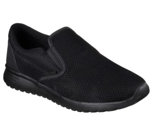 Negro Cordones Viscoelástica Cómodo Zapato Hombre Espuma 52730 Skechers Sin SFwqA
