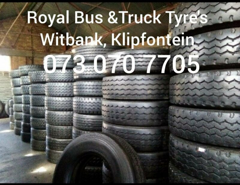 Quality second hand truck tyres available