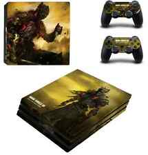 Dark souls III PS4 Pro Skin Sticker Sony Playtation 4 Pro console +2 controllers