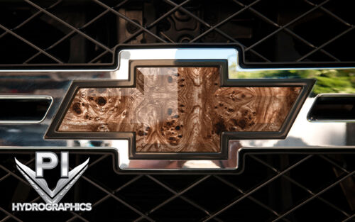 Hydrographic Dip Hydrographic Film Water Transfer Hydro Dipping BURL WOOD BW070