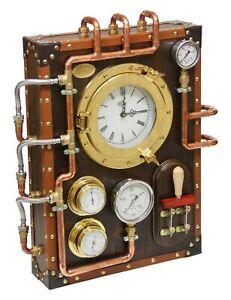 Berniscervera-wall-clock-Industrial-Steampunk