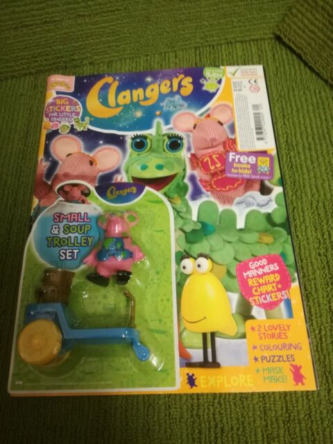 CLANGERS MAGAZINE #2 jumping froglets FREE GIFT