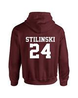 Maroon Stiles Stilinski Inspired Beacon Hills Lacrosse Wolf Adult Hoodie Teen