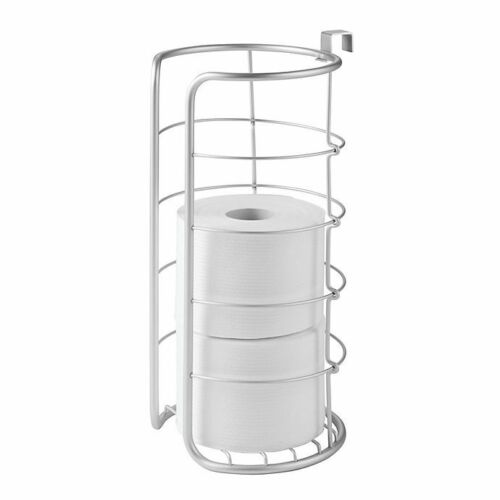 Silver InterDesign Over-the-Tank Multiple Toilet Paper Roll Holder