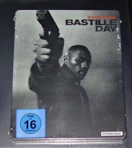 Bastille Day Con Idris Elba Limitata steelbook Edizione blu ray Nuovo &