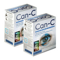 Can-c Eye-drops, Cataract Treatment Without Surgery, 2 Boxs 4 X 5 Ml Vials
