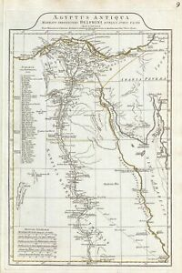 Details about 1794 Anville Map of Ancient Egypt
