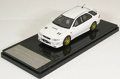 WIT'S 1/43 SUBARU IMPREZA SPORTS WAGON WRX STi Ver. 4 Feather White GF8
