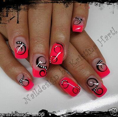 5 ml hochwertiges Farbgel Color in Neon Pink 107-625