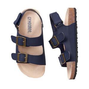 NWT Gymboree Boy Sandals Shoes Trail