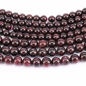 Wholesale-16-034-Strand-Natural-Garnet-Gemstone-Loose-Spacer-Beads-4-6-8-10MM-DIY