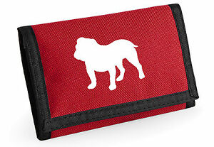 Bulldog-Wallet-Colour-Choice-Purse-Birthday-Gift-Dog-Lovers-Silhouette