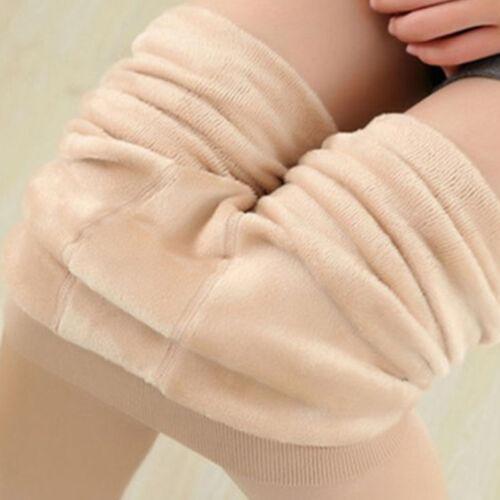 Damen Lang Strümpfe Winter Hüftstrumpfhose Warm Fußstrumpfhose Stretch Hosen
