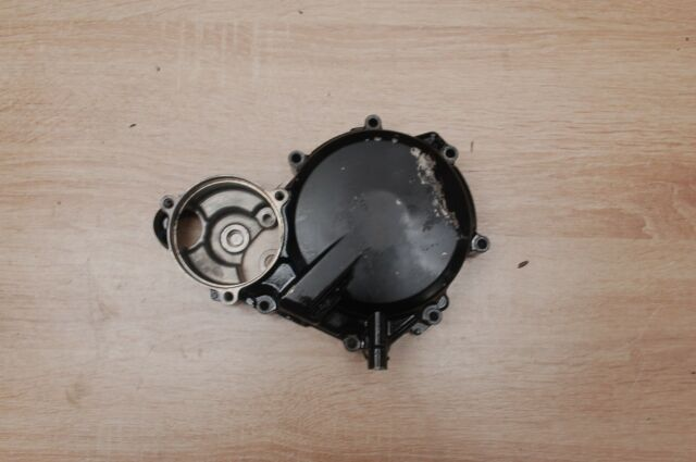 Left Black Stator Engine Crankcase Cover For Suzuki GSXR600 GSX-R 750 2004-2005