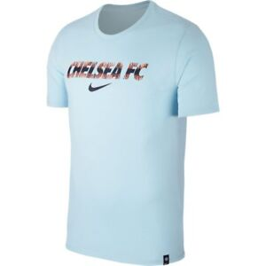 competitive price ae11f 4211e Nike Chelsea FC 2018 - 2019 Poly Fan Soccer Shirt New Powder ...