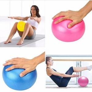 db4c266030266 Details about 25cm Mini Yoga Ball Physical Fitness Exercise Birthing  Balance Pods Pilates LG