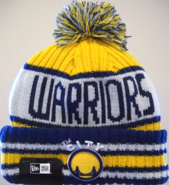 ac0257ca102 Era NBA Golden State Warriors Winter Pom Jacoby Knit Hat OSFA for ...