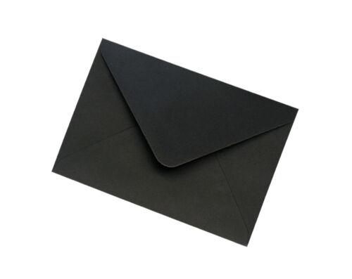 C7 Black Envelopes 100gsm All Quantities