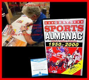 🔥 Tom Wilson Back To The Future Signed Grays Sports Almanac Biff Beckett PSA 🔥