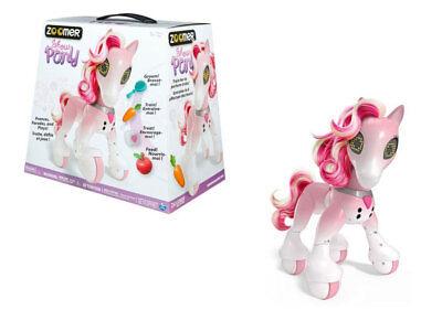 Robot giocattolo interattivo per bambine Zoomer Pony luci LED suoni accessori 7+ | eBay